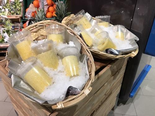 Frisch geschälte Ananas – diese Woche besonders günstig!
