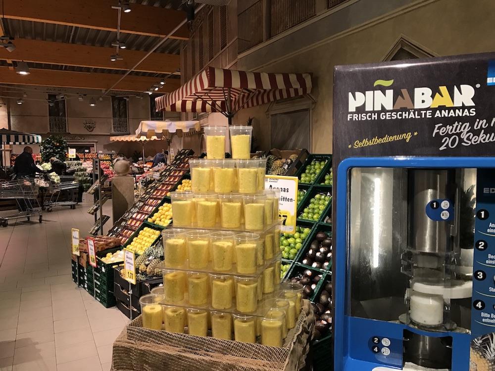 Piñabar – Frische Ananas!