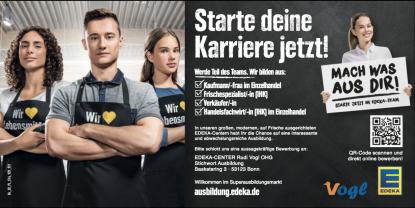 Starte deine Karriere bei EDEKA Vogl!
